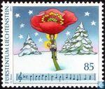 Postzegels - Liechtenstein - Kerstliederen