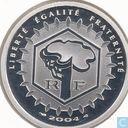 "Frankrijk 5 euro 2004 (PROOF) ""Pantheon"""