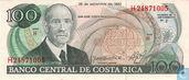 Costa Rica 100 Colones 1993