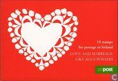 Greetings stamps Marry and Valentine