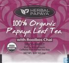 100% Organic Papaya Leaf Tea