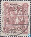 Briefmarken - Marienwerder - Frau mit Fahne