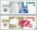 Postzegels - Canada - Olympische Spelen