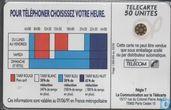 Cartes téléphoniques - France Telecom - Tarif Reduit