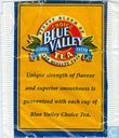 Tea bags and Tea labels - House of coffees - Blue valley choice tea