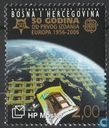 Postage Stamps - Bosnia and Herzegovina - Croatian Post - 50 years of Europe stamps