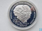 "Penningen / medailles - ECU penningen - Nederland 25 ecu 1994 Prinses-Juliana Bernhard"""