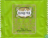 Theezakjes en theelabels - Kusmi Tea - Thé vert gingembre-citron