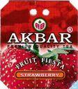 Akbar premium quality tea Fruit Fiesta Strawberry