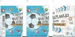 Het Eredivisie voetbalplaatjesalbum 2018-2019