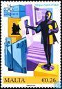 Postzegels - Malta - Culturele hoofdstad van Europa 2018