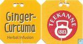 Theezakjes en theelabels - Teekanne - Ginger-Curcuma