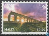Postzegels - Malta - Spectaculaire beelden