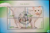 Timbres-poste - Turquie - chats