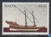 Postzegels - Malta - Maritiem Malta