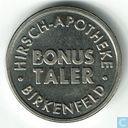 Bonus Taler Hirsch - Apotheke • Birkenfeld •