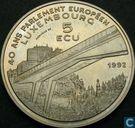Luxemburg  5 ecu  1992 - 40e verjaardag - Europees Parlement
