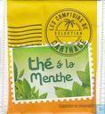 Teebeutel und Tee Etiketten - Les Comptoirs De Carthage - thé á la menthe
