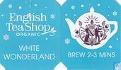 Sachets et étiquettes de thé - English Tea Shop -  3 White Wonderland