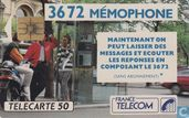 Cartes téléphoniques - France Telecom - 3672 Mémophone