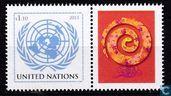 Postzegels - Verenigde Naties - New York - Jaar van de Slang