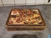Cans / tins / jars - DBF (Des Beukelaer Frérés) - P. Brueghel, Nederlandse spreekwoorden