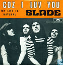Vinyl records and CDs - Slade - Coz I Love You