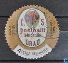 Briefmarken - Tschechien - Telegrafie