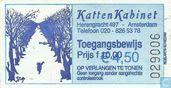 Entreekaart KattenKabinet