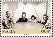 Postzegels - Malta - Tweede wereldoorlog