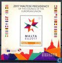 Postzegels - Malta - Presidentsschap van de EU