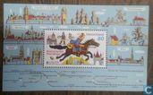 Postage Stamps - Germany [DEU] - Historic postal routes