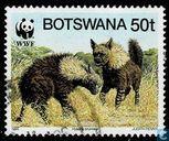 Briefmarken - Botswana [BWA] - WWF - Hyänen