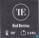Tea bags and Tea labels - Teahouse Exclusives - Red Berries