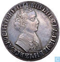 Rusland 1 roebel 1705 (MD)