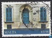 Postzegels - Malta - Gebouwen