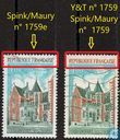 Postage Stamps - France - The Clos Lucé