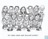 Strips - Rechter, De - Juristen laten zich niet kisten