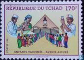 Postage Stamps - Chad - Vaccination
