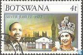 Briefmarken - Botswana [BWA] - Silberne Jubiläum von Königin Elizabeth II.