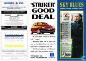 Sky Blues Premier League Fixtures 1994/95