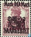 Timbres-poste - Sarre (1920-1935) - Germania