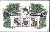 Postage Stamps - Slovakia - European Wildcat