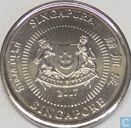 Coins - Singapore - Singapore 10 cents 2017