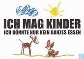 "Postcards - Blanda cards (logo) - 0326 - blanda promotions ""Ich Mag Kinder"""