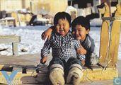 Ansichtkaarten - Blanda cards (logo) - 0330 - gesellschaft für bedrohte völker