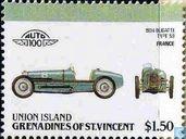 Timbres-poste - Grenadines de St. Vincent - Union Island - Voitures