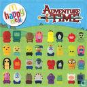 Overig - McDonald's - Happy Meal 2017: Adventure Time - Gunter/Vuur Prinses