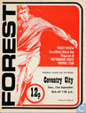 Wedstrijdprogramma's - 1976-1977 - Nottingham Forest - Coventry City