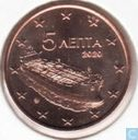 Grèce 5 cent 2020